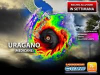 Meteo SETTIMANA: il Ciclone Mediterraneo si trasforma in URAGANO, Rischio Alluvioni nei Prossimi Giorni