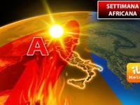 Meteo: ecco la Settimana Africana, ogni giorno sarà sempre più Caldo. Vi diciamo Quanto durerà