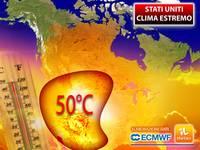 Meteo: CLIMA ESTREMO negli USA, raggiunti addirittura i 51°C in CALIFORNIA! I dettagli