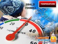 Meteo: TEMPERATURE impazzite, nei PROSSIMI GIORNI sbalzi anche di 20°C in poche ore. Motivi e Zone Interessate