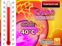 Meteo: TEMPERATURE, tra poco ONDATA di CALDO ECCEZIONALE, batteremo i valori del 2003! Città più ROVENTI e DURATA