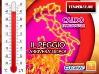 Meteo: TEMPERATURE, ECCEZIONALE ONDATA di CALDO infiamma l'ITALIA nel FINE SETTIMANA, ma il PEGGIO arriverà DOPO