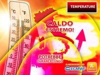 Meteo: TEMPERATURE, CALDO ESTREMO nei PROSSIMI GIORNI con PICCHI ECCEZIONALI e STAVOLTA potrebbe DURARE a LUNGO