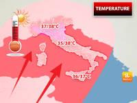 Meteo: TEMPERATURE, imminente offensiva dal Deserto del Sahara. Ecco Quando e le Città Dove farà più Caldo