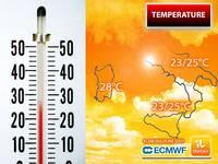 Meteo: TEMPERATURE, tra poco Picchi Sorprendenti sull'Italia, si sfioreranno addirittura i 30°C! Le Zone coinvolte