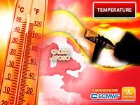 Meteo: CALDO AFOSO imminente con l'ANTICICLONE AFRICANO! La MAPPA delle TEMPERATURE più ALTE nei PROSSIMI GIORNI