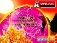 Meteo: TEMPERATURE, Arriva l'ONDATA di CALDO più FORTE dell'ESTATE 2021, PICCHI ad oltre 44°C per TANTI GIORNI