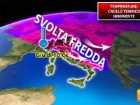 Meteo > TEMPERATURE, CROLLO TERMICO imminente, giù di 10°C. Ecco DOVE e quanto durerà la SVOLTA FREDDA