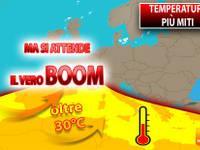 Meteo: TEMPERATURE più MITI, ma si attende il VERO BOOM di CALDO a oltre 30°C. Ecco QUANDO è previsto
