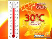 Meteo: APICE del CALDO, è IMMINENTE un BOOM delle TEMPERATURE, PICCHI di 30°C. Ma NON durerà per questi motivi