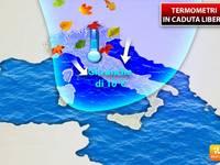 Meteo: TEMPERATURE, Tornerà o no il CALDO? Termometri in Caduta Libera, ma Ecco se il Crollo è Definitivo