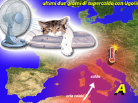 METEO » ancora 2 giorni con Ugolino, piena estate in Italia!
