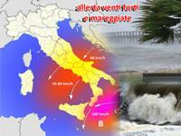 Meteo ITALIA - ritorna l'anticiclone, ma ATTENZIONE ai venti forti e MAREGGIATE al Centro-Sud