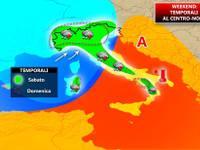 METEO WEEKEND 28-29 Aprile: arrivano i TEMPORALI, SCACCO MATTO all'alta pressione [MAPPE]