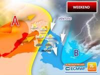 Meteo: WEEKEND, l'Alta Pressione ci prova, ma ATTENZIONE, ci saranno delle Insidie tra SABATO e DOMENICA