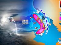 Meteo: WEEKEND in SUBBUGLIO, CICLONE TEMPESTOSO sull'ITALIA, TEMPORALI, NEVICATE e VENTO tra SABATO e DOMENICA