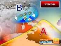 Meteo: PROSSIMO WEEKEND, CAPITOMBOLO dell'ANTICICLONE AFRICANO? Ci sono NOVITA' per Sabato 26 e Domenica 27