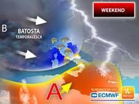 Meteo: WEEKEND, dopo il PICCO di CALDO AFRICANO sarà la GRANDINE a darci la BATOSTA. ZONE colpite SABATO DOMENICA