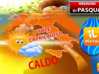 Meteo: WEEKEND, Sabato e Domenica di PASQUA un BOOM di CALDO, ma il SOLE farà i CAPRICCI. Ecco DOVE e perché