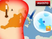Meteo: AGOSTO, tra Fasi Roventi e Raid temporaleschi, ecco come finirà l'Estate. Previsioni fino a Settembre