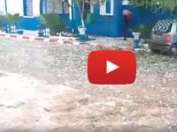 METEO CRONACA DIRETTA VIDEO: GRANDINATA BOMBARDAMENTO DEL SECOLO in Algeria!