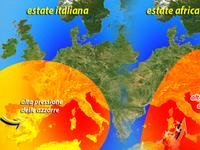 METEO didattica: estate africana ed estate italiana, quali le differenze?