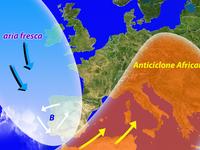 METEO / Didattica, alta pressione Africana, perchè arriva?