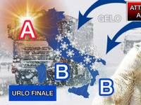 Meteo: ATTACCO RUSSO in rotta verso l'Italia ENTRO fine FEBBRAIO. Sarà l'URLO FINALE dell'INVERNO