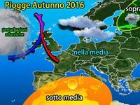 Meteo ITALIA: Autunno CALDO e piovoso? Ecco le PRIME INDICAZIONI del modello ECMWF