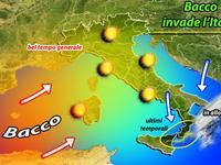 METEO: tutto sole e cielo limpido, è l'estate di BACCO. Ultimi temporali al Sud [VIDEO]