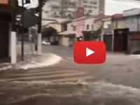 Meteo Cronaca DIRETTA VIDEO: BRASILE, la metropoli di SAN PAOLO Flagellata da PIOGGE TORRENZIALI. Le IMMAGINI