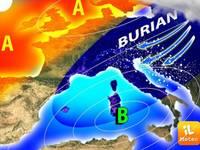 METEO: evento epocale alle porte, dalla Siberia arriva il Burian, gelo e neve
