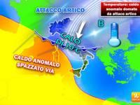 Meteo: TEMPERATURE: il caldo anomalo verrà domato da un attacco artico. Vi diciamo da quando