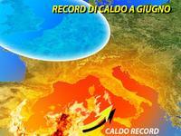 Italia | la calda ESTATE del 2007, temperature RECORD a Giugno specie al Centro-Sud