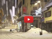 Meteo Cronaca DIRETTA VIDEO: TRENTINO, pazzesca NEVICATA torna a Imbiancare MADONNA di CAMPIGLIO. Le Immagini