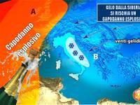Meteo: aria SIBERIANA e NEVE, si rischia un VERO CAPODANNO ESPLOSIVO [TENDENZA UFFICIALE]