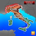 METEO:  MALTEMPO sabato e domenica colpisce DUE VOLTE il WEEKEND [VIDEO]