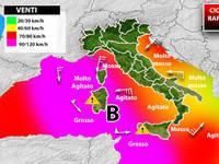 Meteo: è IMMINENTE un URAGANO MEDITERRANEO con DISASTROSI VENTI a 120km/h. Ecco cosa si rischia in Italia