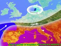 Meteo ESTATE ~ ULTIMI aggiornamenti del modello europeo ECMWF, temperature meno ROVENTI?
