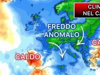 Meteo: CLIMA nel CAOS, ANTICICLONE AFRICANO al POLO NORD, FREDDO nel Mediterraneo. Ecco CONSEGUENZE in ITALIA