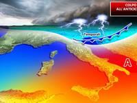 Meteo: Giovedì 26 prima incursione TEMPORALESCA e calo termico a partire dal Nord