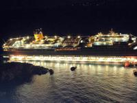 Costa concordia, le tragiche immagini dell'immenso naufragio