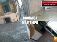 METEO CRONACA VIDEO DIRETTA: SPAVENTOSO NUBIFRAGIO in Abruzzo, fiume di acqua apocalittico