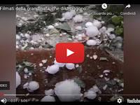 Meteo Cronaca DIRETTA: CUNEO, GRANDINE GROSSA distrugge tutto. Il VIDEO è impressionante