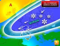METEO: missile siberiano in arrivo, il Burian sconvolgerà l'Italia, ecco perché