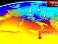 METEO: brusco CALO termico, torna l'Autunno al Nord, ECCO QUANDO