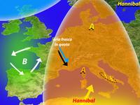 """METEO » la Primavera sale in cattedra con """"Hannibal"""". Basta freddo!"""