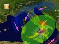 METEO: allerta rossa per il VORTICE di 989 mBar, Venti tempestosi, 80 cm di NEVE in Abruzzo Mappa e [VIDEO]