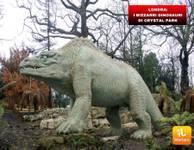 LONDRA: i bizzarri dinosauri di Crystal Park