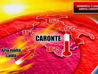METEO: VIDEO, ecco l'Inferno di CARONTE
